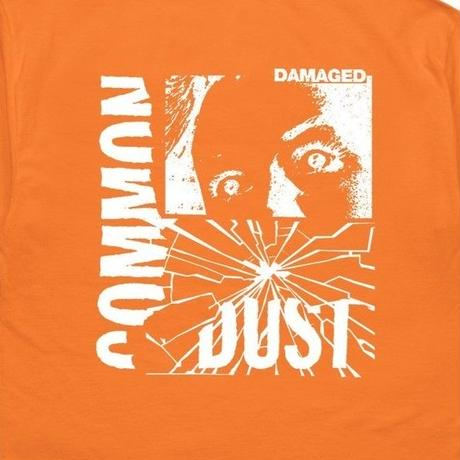 COMMON DUST DAMAGED TEE   ORENGE