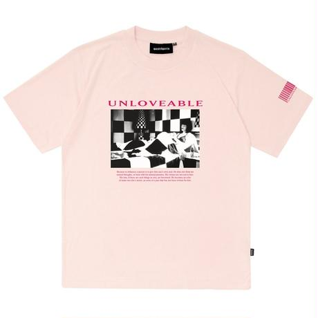 WASTED PARIS UNLOVEABLE TEE-L,PINK