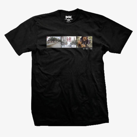 DGK RUN SKATE CHILL TEE-BLACK