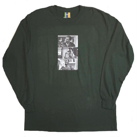 BEDLAM FRIDAY L/S TEE-F,GREEN