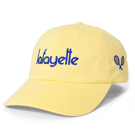 LAFAYETTE TENNIS LOGO DAD HAT-CREAM