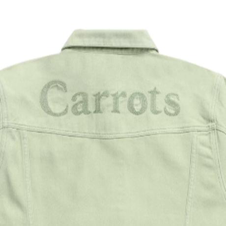 CARROTS WORDMARK DENIM JACKET-SAGE GREEN