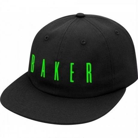 BAKER SKATEBOARDS COSOS 6 PANEL   BLACK