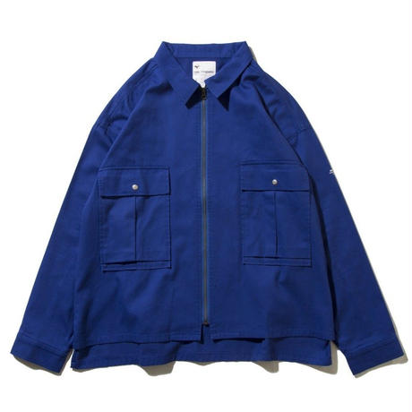 DEMARCOLAB GMS #2 ZIP JKT-BLUE