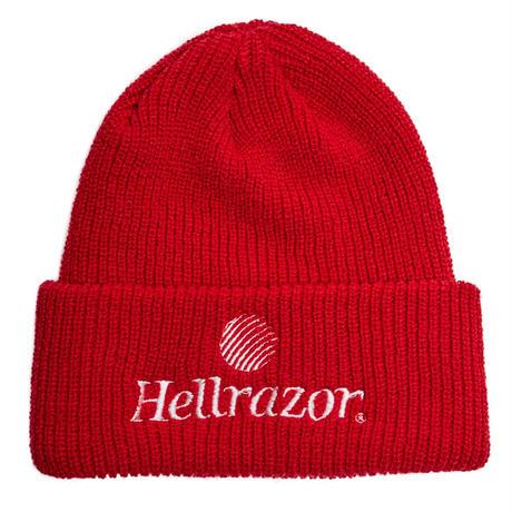 HELLRAZOR TRADEMARKLOGO WATCHCAP-RED