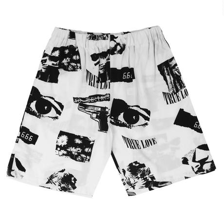 WASTED PARIS TRUE LOVE ALLOVER SHORT