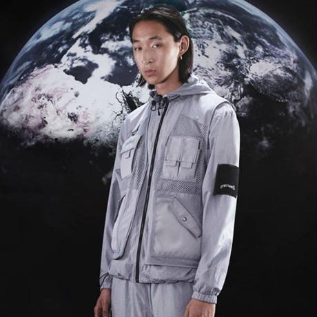 WASTED PARIS WIND BREAKER LIAM-S,GREY