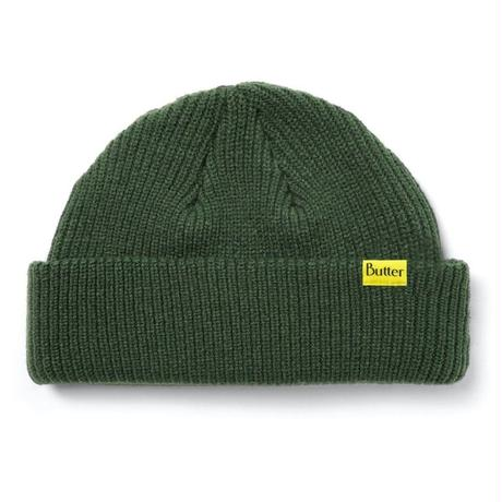 BUTTER GOODS WHARFIE BEANIE-ARMY GREEN