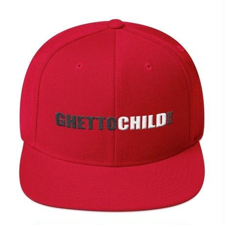 GHETTOCHILD CLASSIC USA SNAPBACK-RED