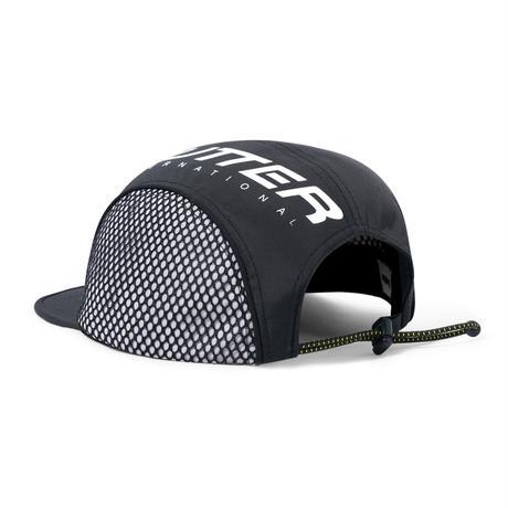 BUTTER GOODS INTERNATIONALCAMP CAP-BLACK
