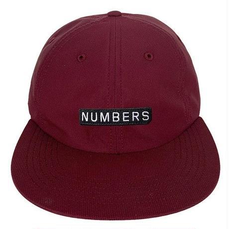 NUMBERS EDITION MITERED BOX NYLON 6-PANEL HAT-PORT
