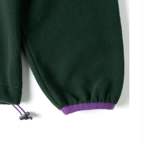 BUTTER GOODS WOOLDDAND POLAR FREECE CREWNECK-F,GREEN