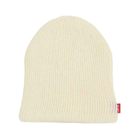 WHIMSY SINGLE BEANIE - WHITE