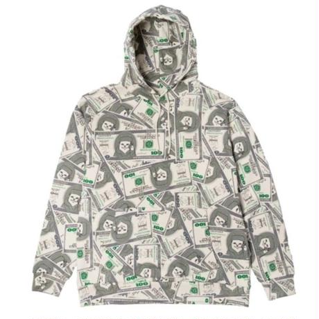 RIPNDIP MONEY BAG HOODY-GREEN