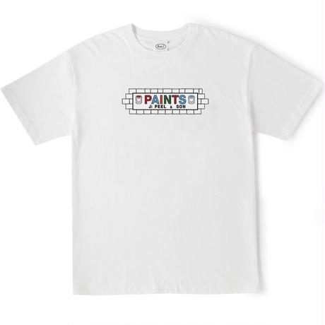PEELS AND SONS TEE  WHITE