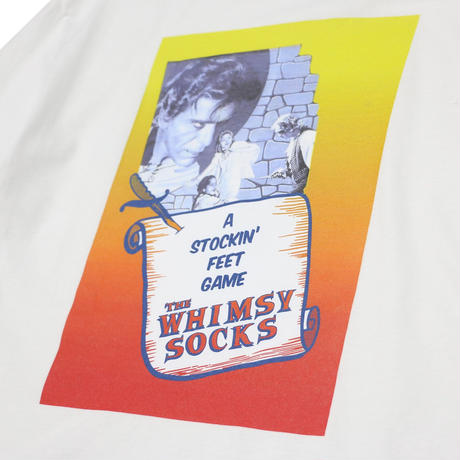 WHIMSY  FIENDISH L/S TEE - WHITE