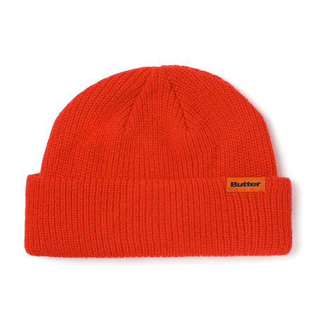 BUTTER GOODS WHARFIE BEANIE-RED