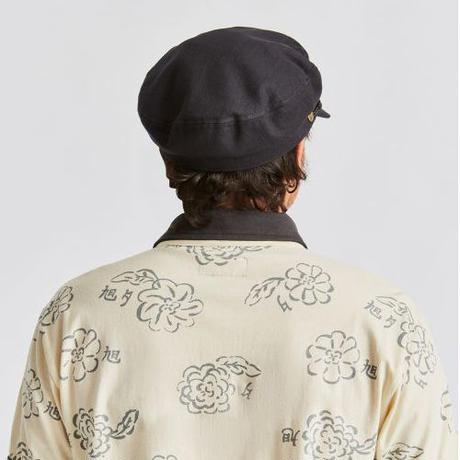 BRIXTON FIDDLER CAP - BLACK