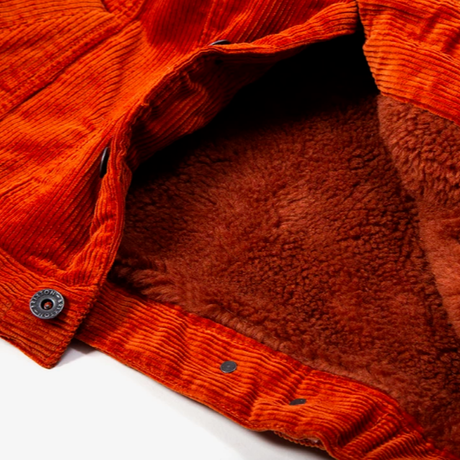 BRIXTON CABLE SHERPA JACKET-PICANTE