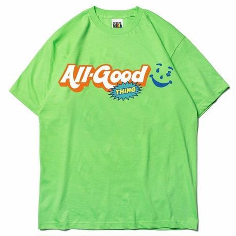 ALLGOODTHINGZ GOOD AID TEE-GREEN