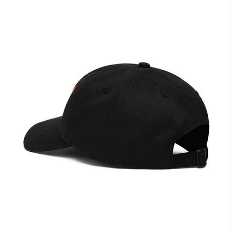 THRASHER FLAME OLD TIMERHAT-BLACK