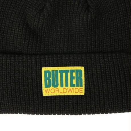 BUTTER GOODS WHARFIE BEANIE BLACK