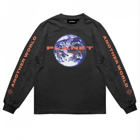 WASTED PARIS BLACK PLANET DUST L/S TEE