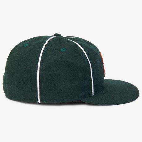 NOTHIN'SPECIAL X EBBETS FIELD PLAYER BASEBALL CAP - F,GREEN