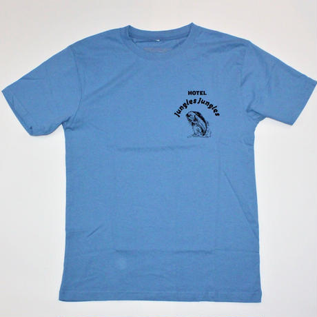 JUNGLES REALITY BITES TEE  BLUE