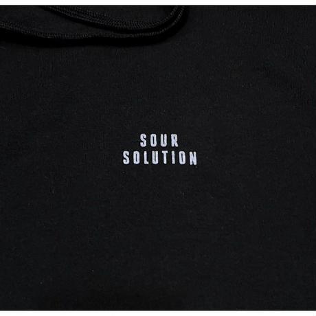 SOUR SOLUTION A LADY WITH A BALL HOODIE-BLACK