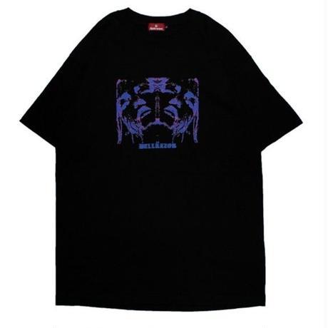 HELLRAZOR FLEA  TEE-BLACK