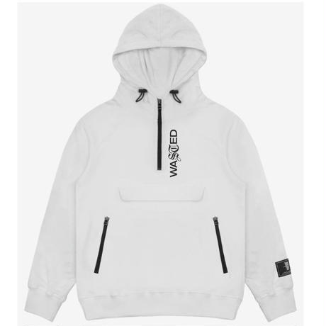 WASTED PARIS FACILITY HOODIE-WHITE