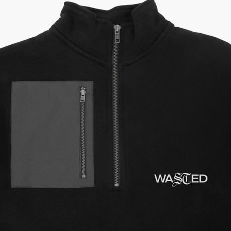 WASTED PARIS TECHNIC FUNNEL CREW-BLACK