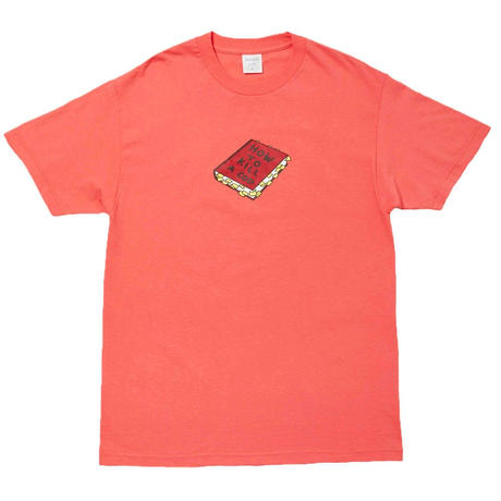 WHIMSY HOW TO KILL A COP TEE-CORAL