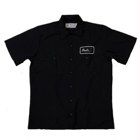 PEELS WORK S/S SHIRT BLACK