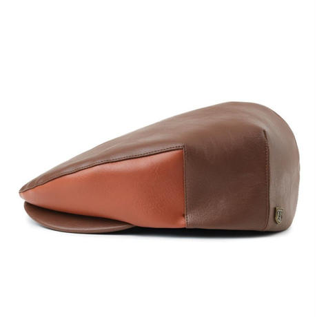 BRIXTON HOOLIGAN SNAP CAP-BROWN/L,BROWN