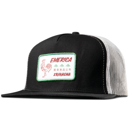 EMERICA SPOT TRUCKER   BLACK/WHITE
