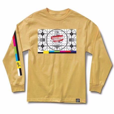JHF STAND BY  L/S TEE    YELLOW