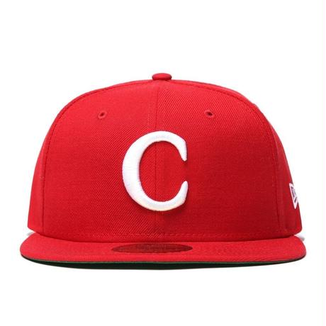 CARROTS C LOGO FITTED CAP-RED- 7 1/2