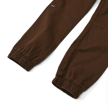 LAFAYETTE STRETCH JOGGER PANTS-BROWN