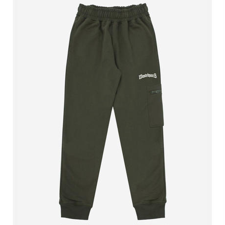 WASTED PARIS ESSENTIAL JOGGING PANT-GREEN