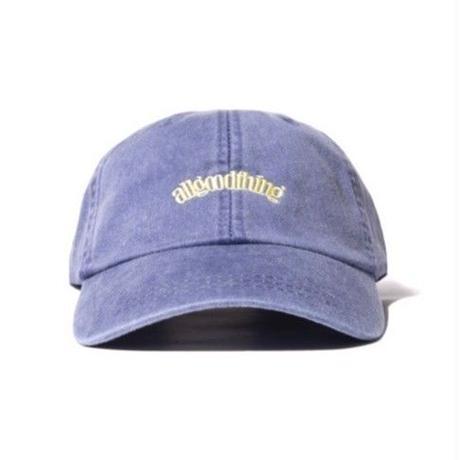 ALLGOODTHINGZ  OGLOGO WASHED CAP-PURPLE