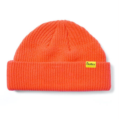 BUTTER GOODS WHARFIE BEANIE-ORANGE