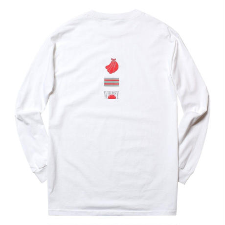 WHIMSY FRESH DELIVERY L/S TEE-WHITE