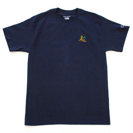 IN4MATIONXCARROTS  TEE   NAVY