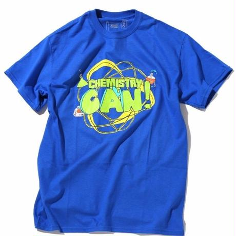 ILLEGAL CIVILIZATION CHEMISTRY CAN TEE   BLUE