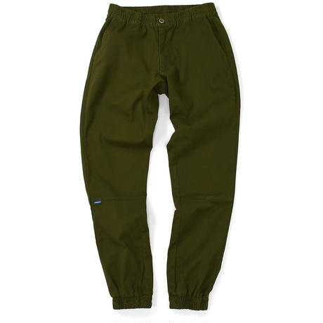 LAFAYETTE STRETCH JOGGER PANTS-MILITARY GREEN