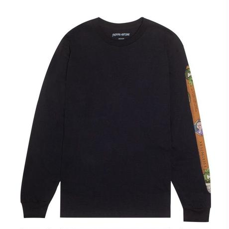 FUCKING AWESOME BLUNT L/S TEE-BLACK