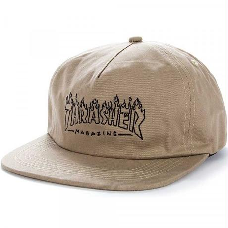THRASHER WITCH SNAPBACK-KHARKI