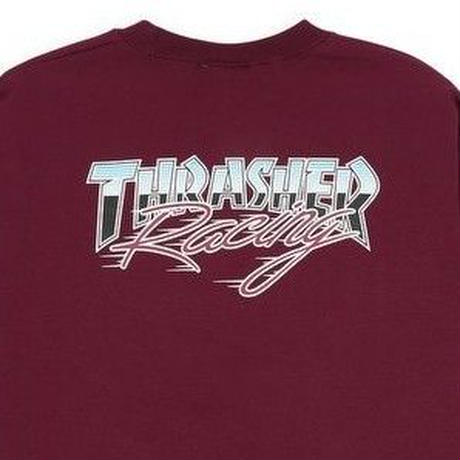 THRASHER RACING CREW-BURGUNDY